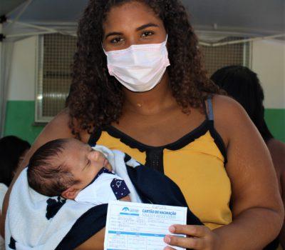 Japeri inclui gestantes e profissionais de educação na campanha de vacinação contra a Covid-19