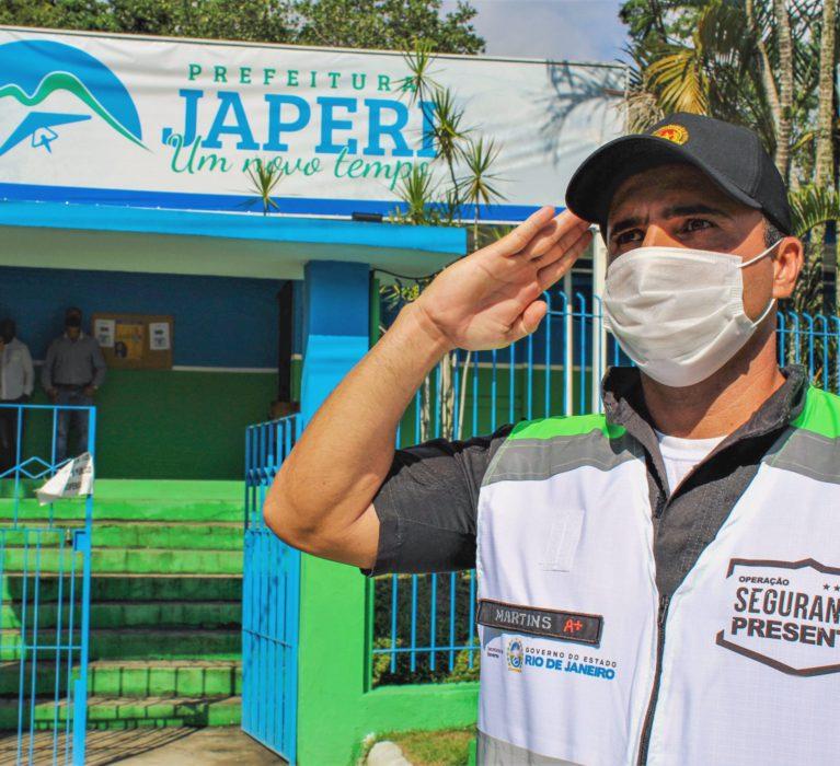 Primeiro mês de atuação do Segurança Presente em Japeri mostra queda nos índices de violência