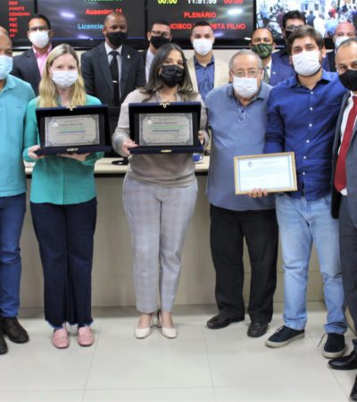 Prefeita Drª Fernanda Ontiveros recebe Título de Cidadã Japeriense na Câmara Municipal
